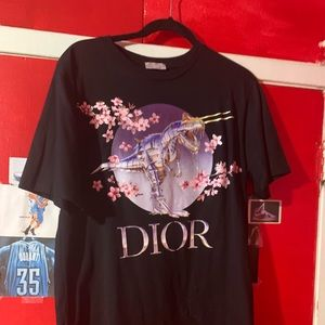2019 Dior x Sorayama collection tee
